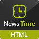 News Time Magazine / Blog HTML Template