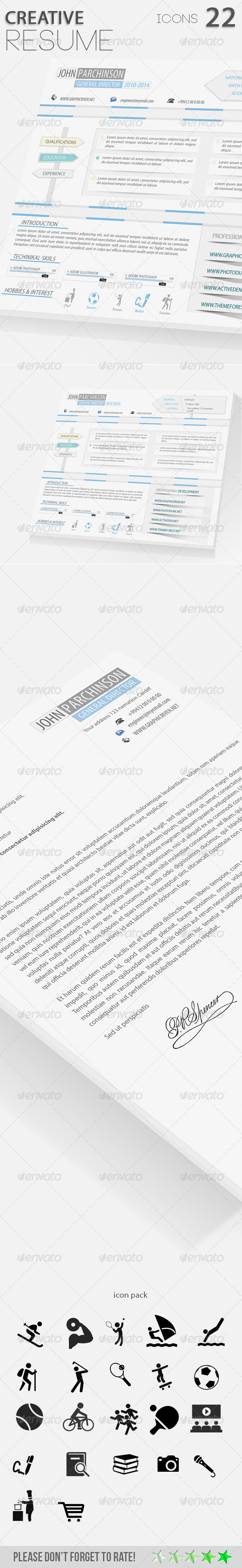 Creative Resume_01 - Resumes Stationery