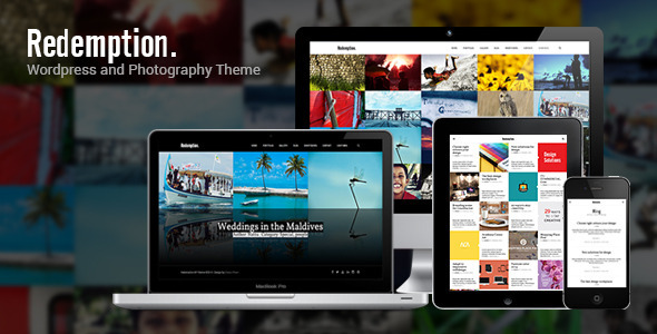 Redemption - WordPress and Photography Theme