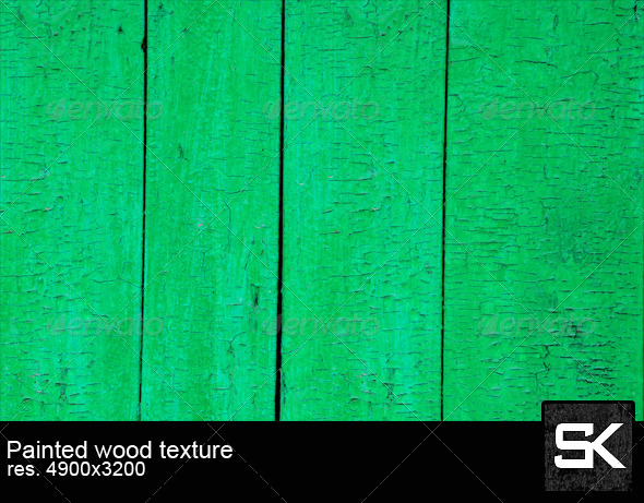 Painted Wood - Wood Textures