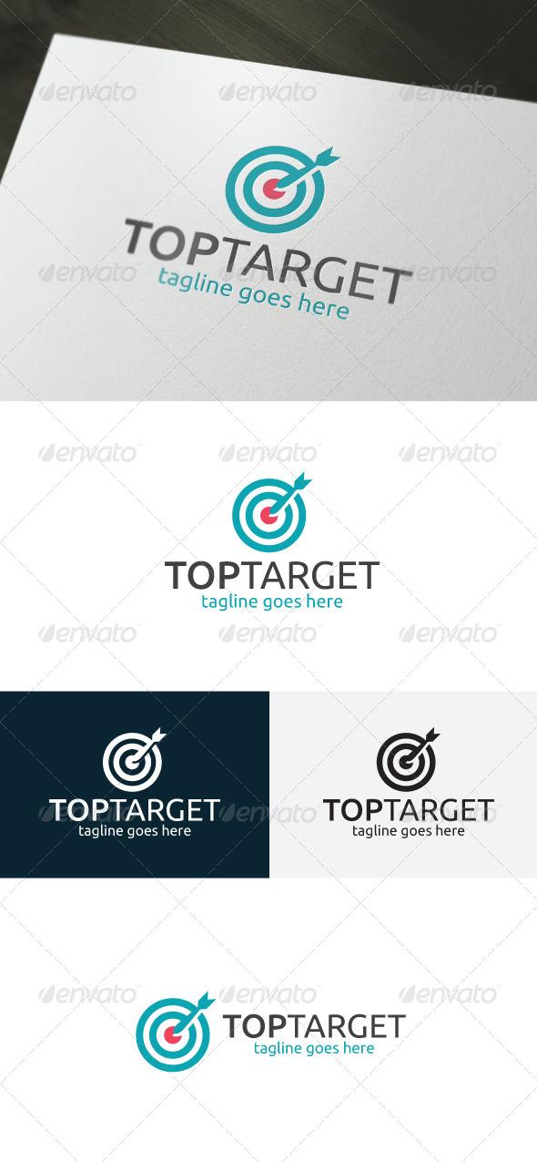 Top Target Logo - Symbols Logo Templates
