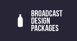 Premiumilk Broadcast Design Packages