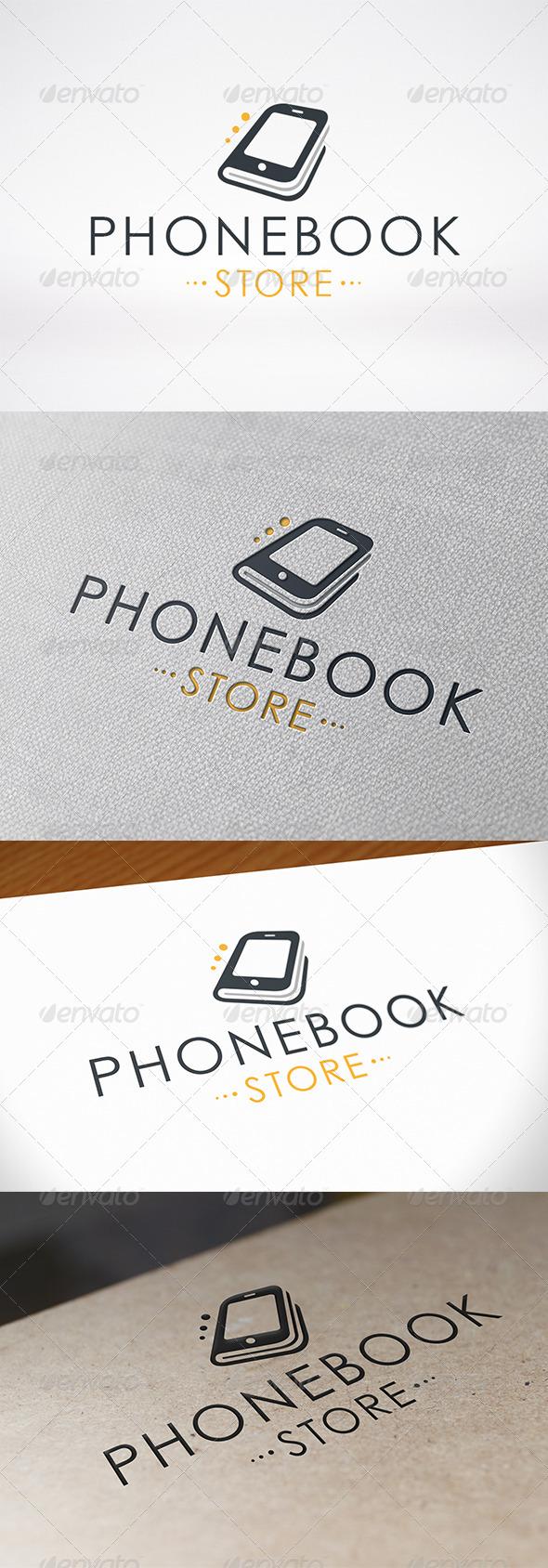 Phone Book Logo Template - Symbols Logo Templates