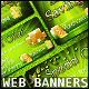 Fresh Green Web Banners - GraphicRiver Item for Sale