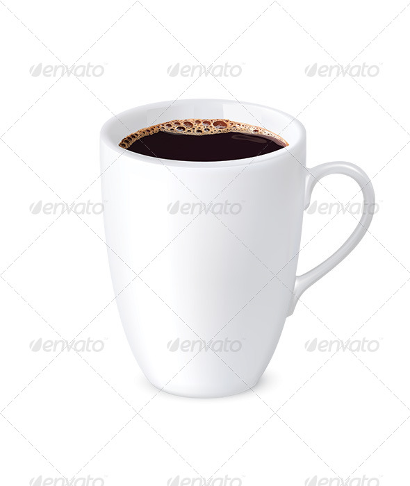 Cup Coffee - Food Objects