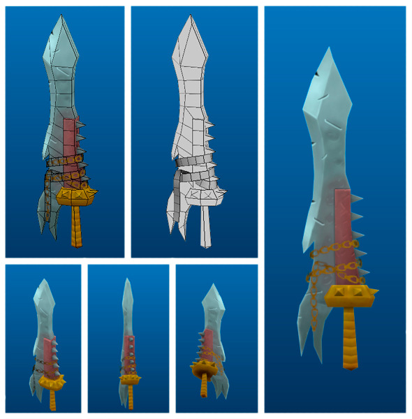 Stylish Sword 01 - 3DOcean Item for Sale