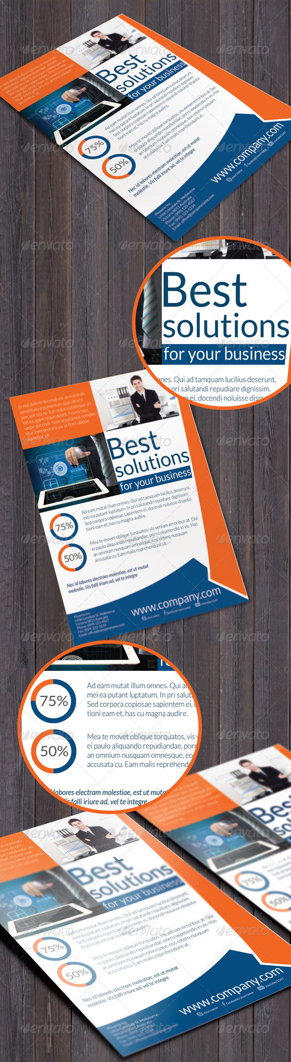 Business Solution Flyer - Corporate Flyers