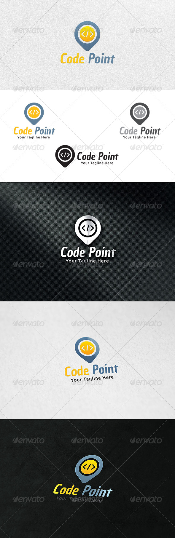 Code Point - Logo Template - Symbols Logo Templates
