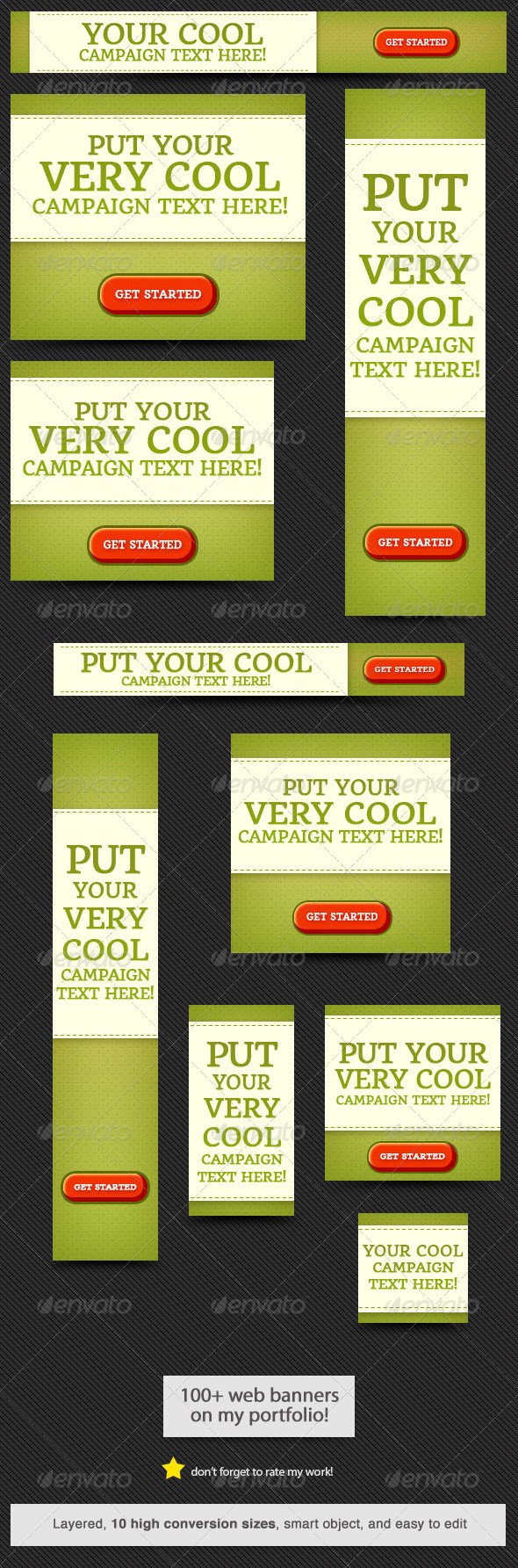 Cool Web Banner Design - Banners & Ads Web Elements