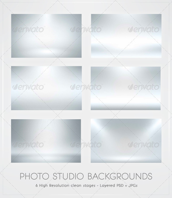 Infinite White Floor Spotlight Backgrounds  - Backgrounds Graphics