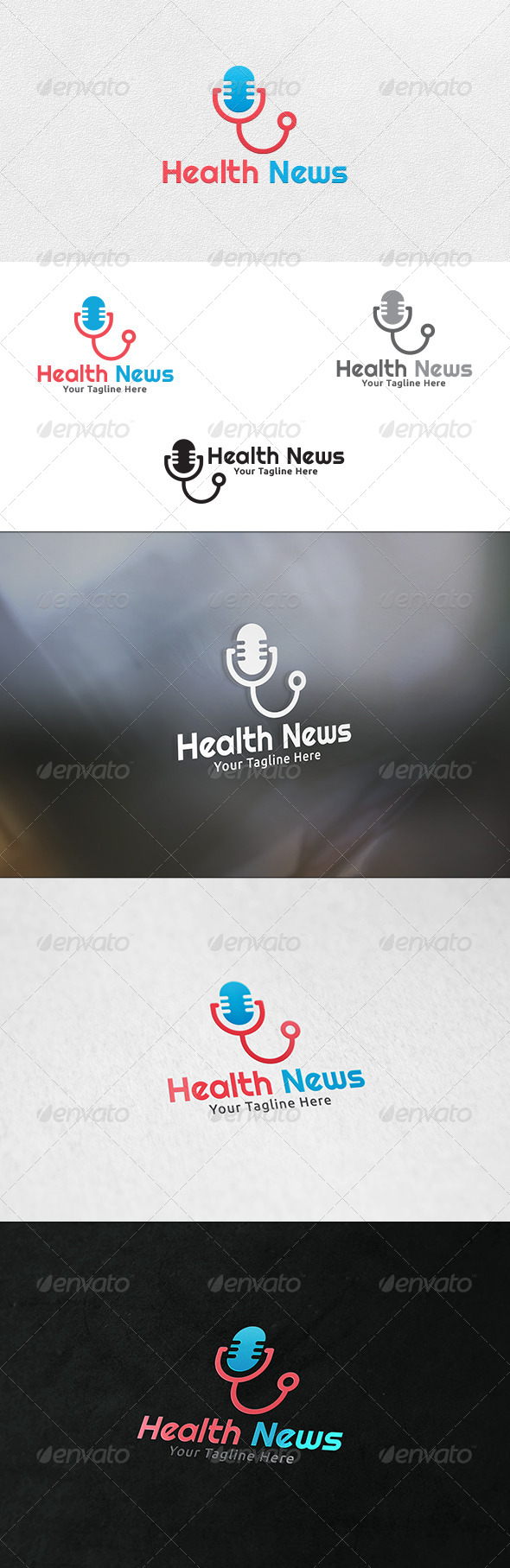 Medical News - Logo Template - Objects Logo Templates