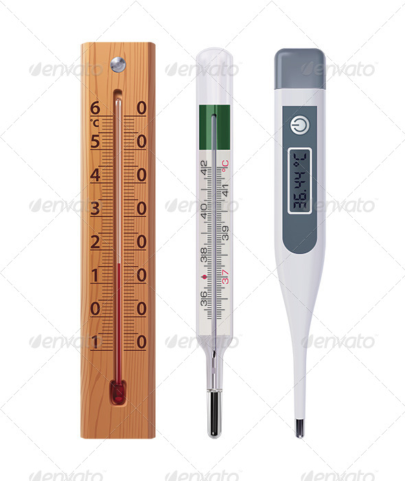 Thermometers - Man-made Objects Objects