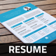 Resume Template v2 - GraphicRiver Item for Sale
