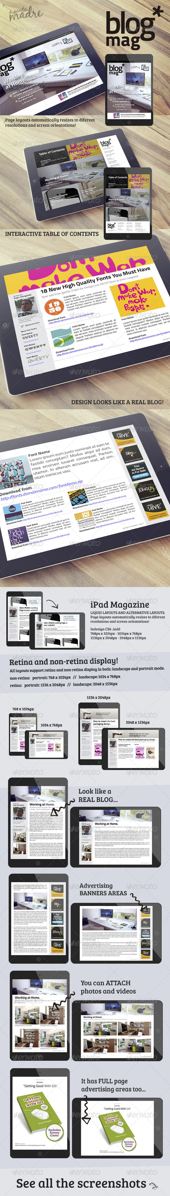 iPad Magazine that Looks Like a Blog - Digital Magazines ePublishing