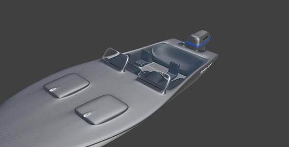 MotorBoat - 3DOcean Item for Sale