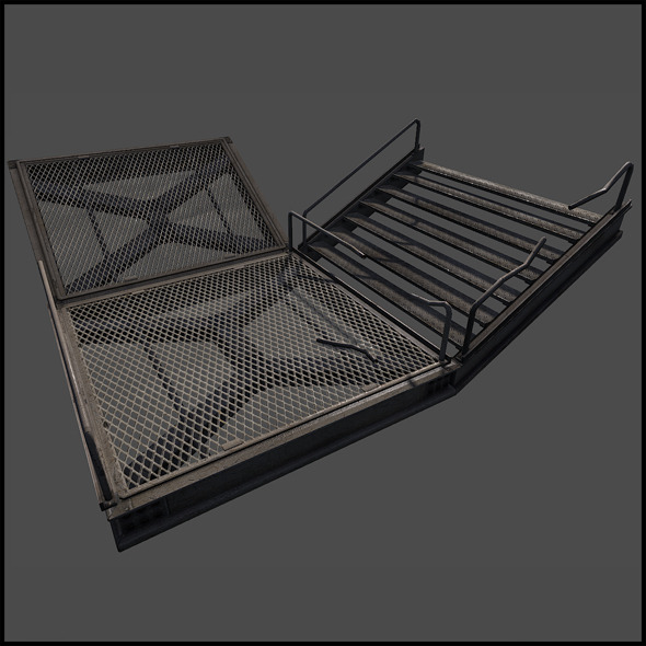 Metal Catwalk Set By Arx F 3docean