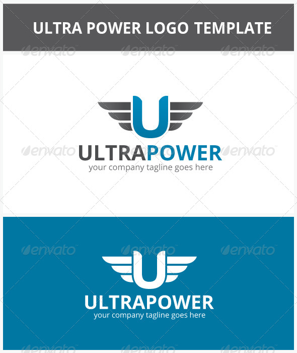 Ultra Power Logo - Letters Logo Templates