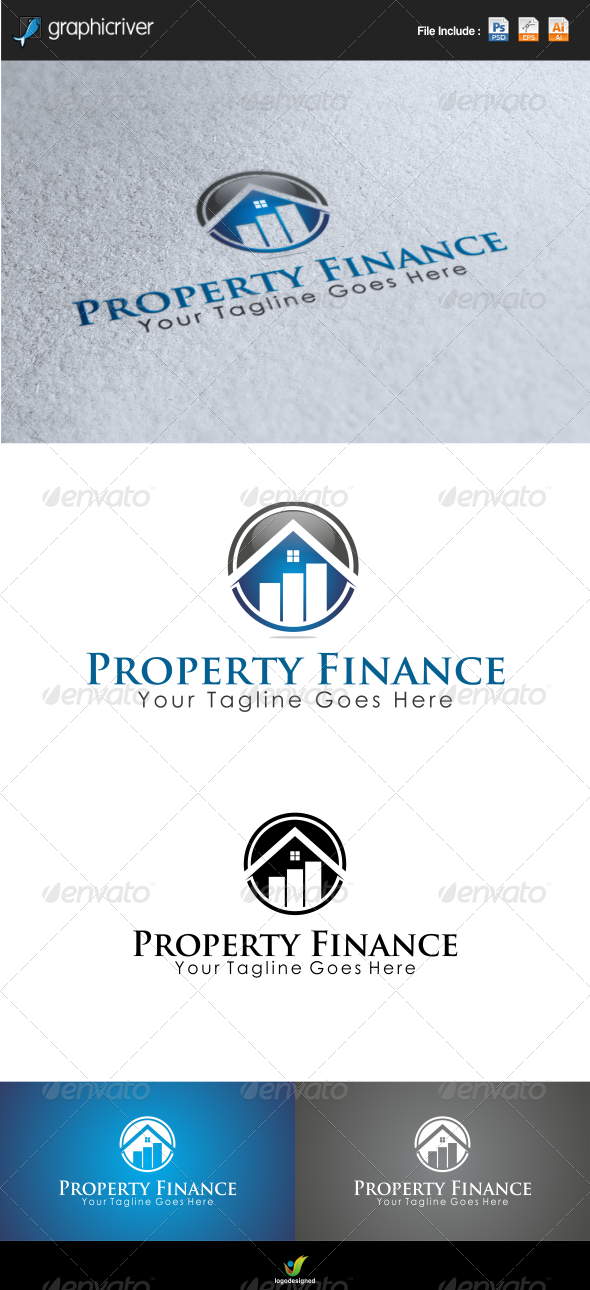 Property Finance Logo Template - Buildings Logo Templates