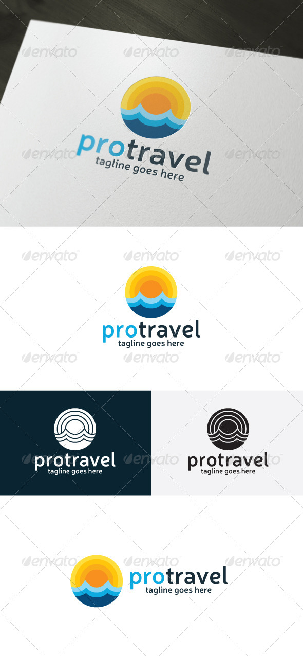 Pro Travel Logo - Nature Logo Templates