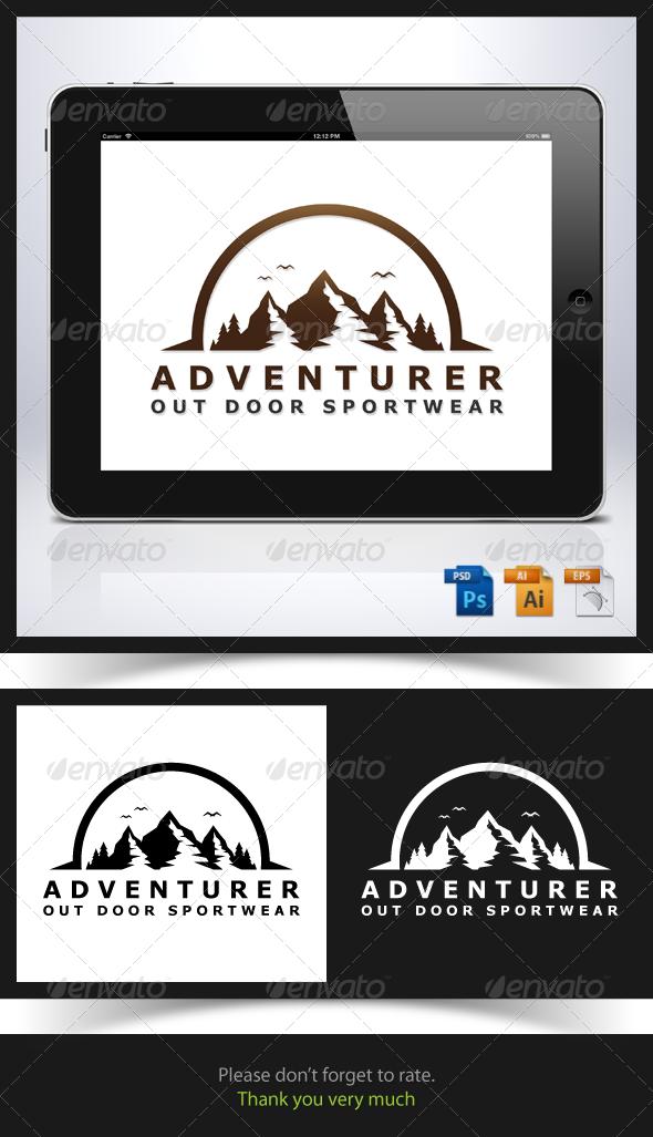 Adventurer Logo - Nature Logo Templates