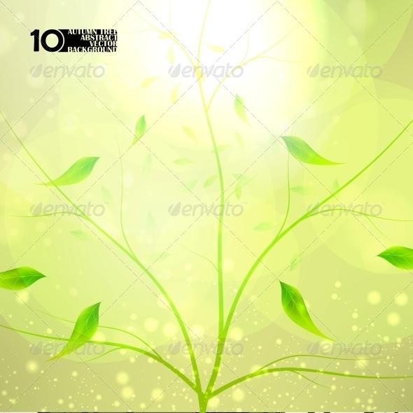 Autumn Background - Flowers & Plants Nature