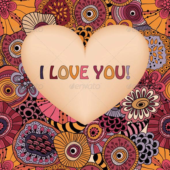 Valentine's Greeting Card - Valentines Seasons/Holidays