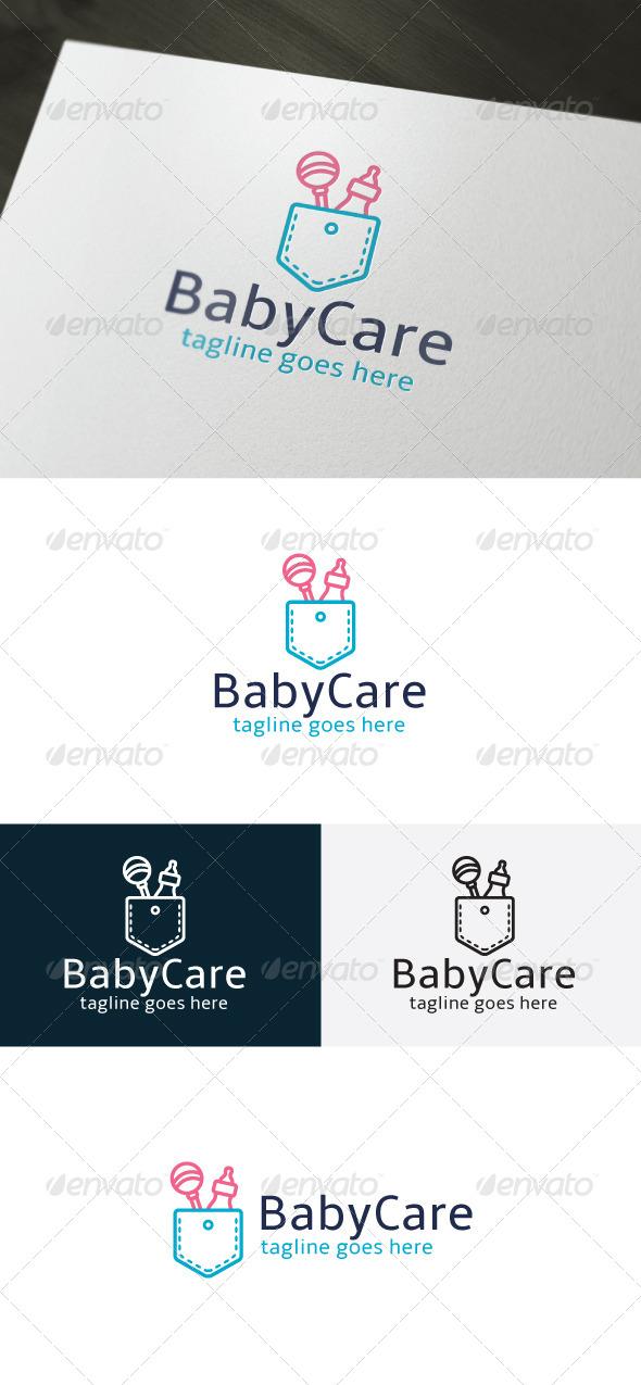 Baby Care Logo - Objects Logo Templates
