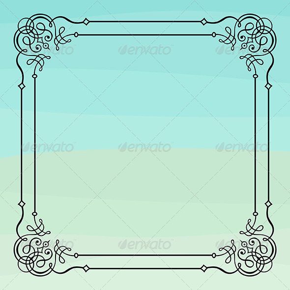 Elegance Frame - Patterns Decorative