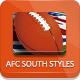 NFL Football Styles - AFC South - GraphicRiver Item for Sale