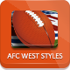NFL Football Styles - AFC West - GraphicRiver Item for Sale