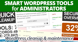 Smart WordPress Tools for Administrators