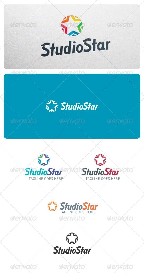 Studio Star Logo - Symbols Logo Templates