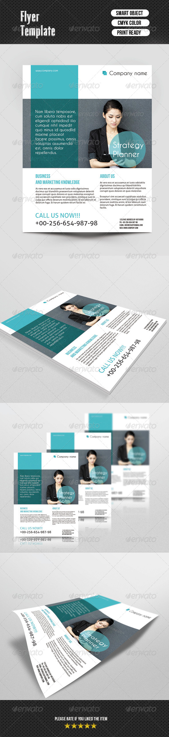 Busines Flayer Template - Corporate Flyers