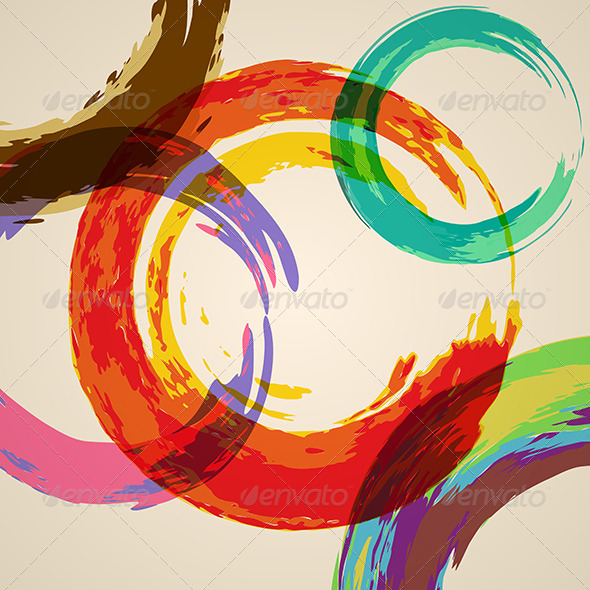 Watercolor Abstract Background - Abstract Conceptual