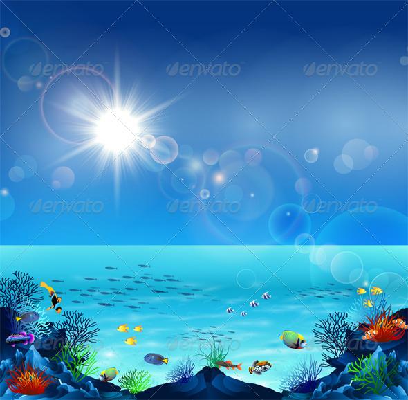 Underwater Life - Nature Conceptual