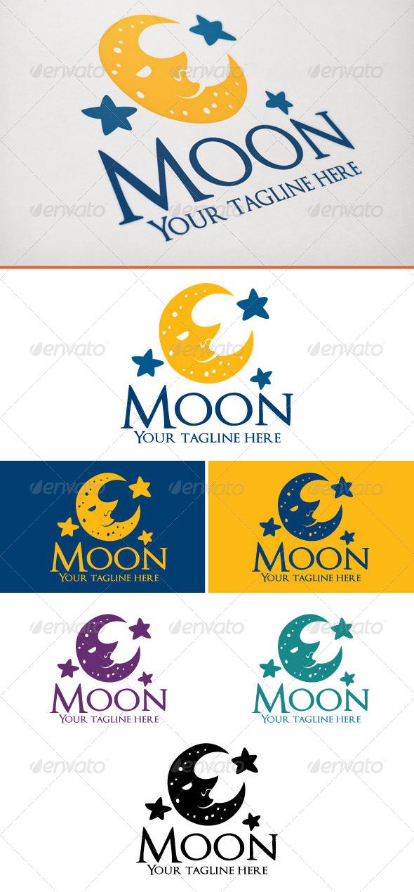 Moon - Objects Logo Templates