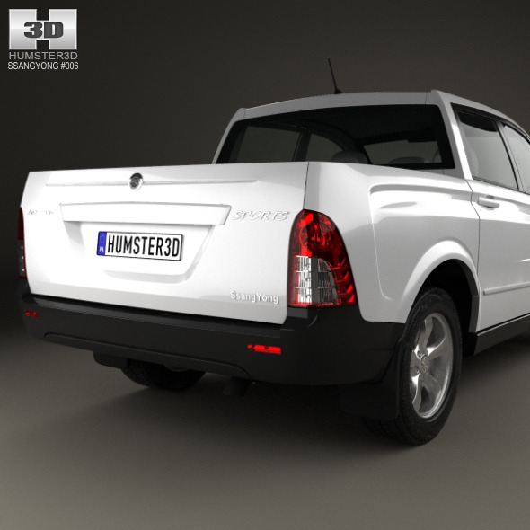 Ssangyong Actyon Sports 2006 By Humster3d 3docean