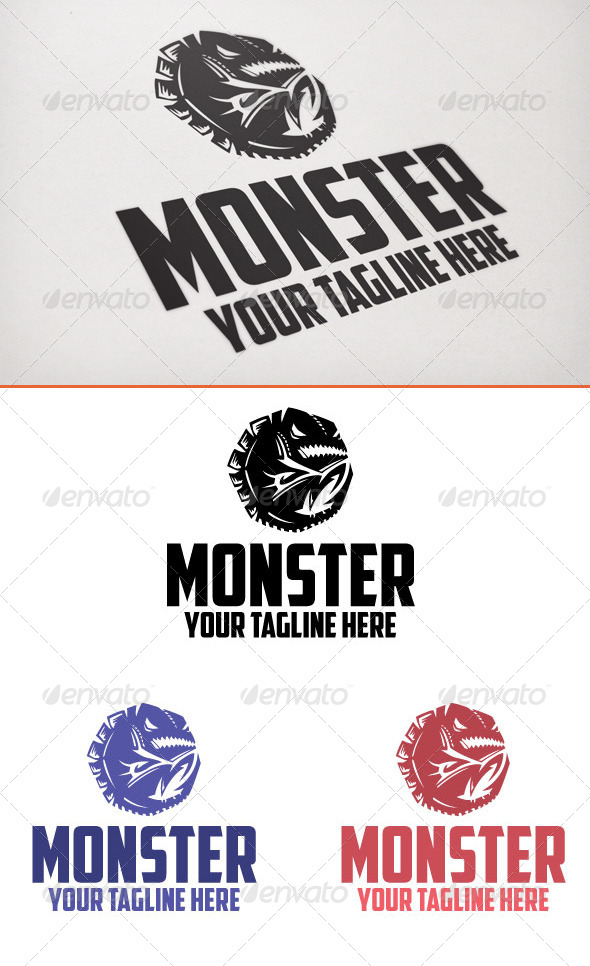 Monster - Animals Logo Templates