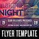 Wild for the Night Flyer Template - GraphicRiver Item for Sale