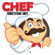 Chef Vector Set - GraphicRiver Item for Sale