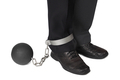 Businesman with ball and chain - PhotoDune Item for Sale