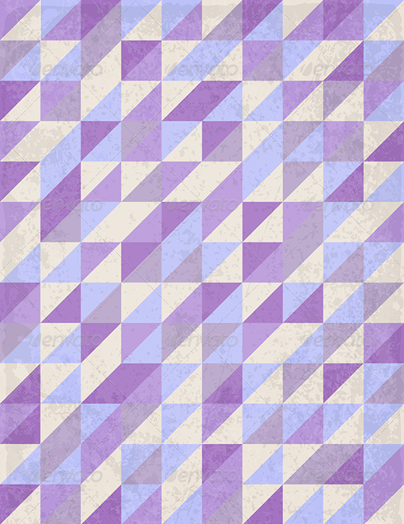 Abstract Geometrical Violet Background - Abstract Conceptual