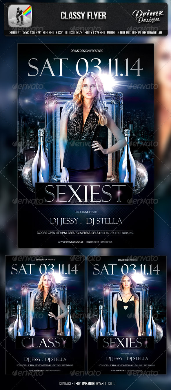 Classy Flyer - Events Flyers