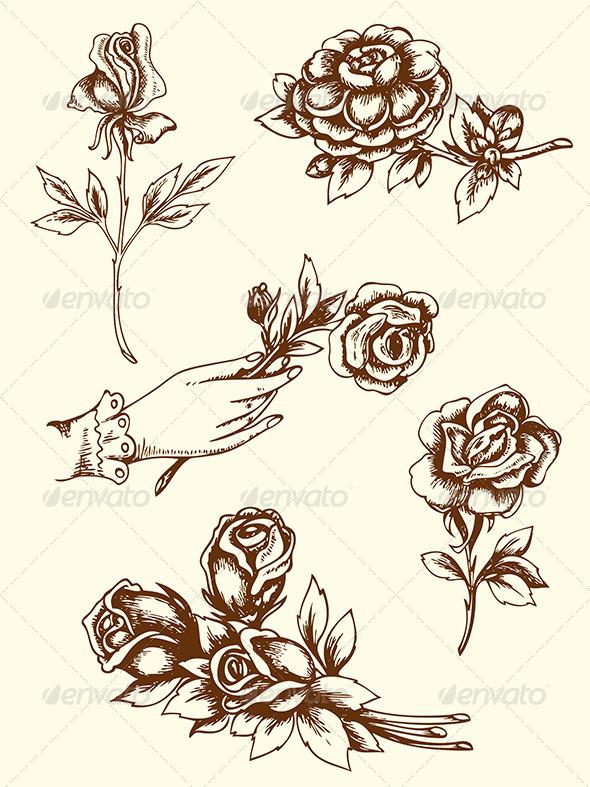 Vintage Flowers - Flowers & Plants Nature