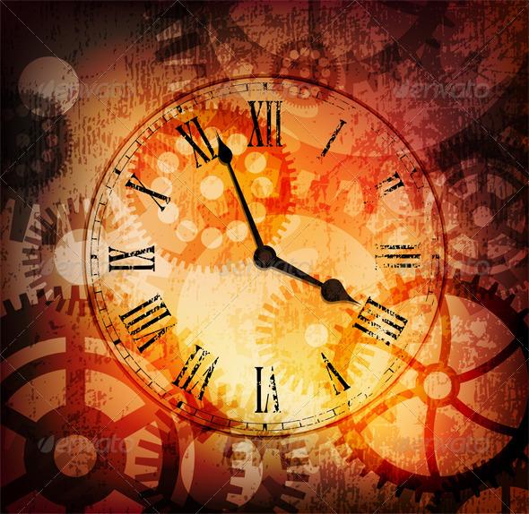 Vintage clock - Retro Technology