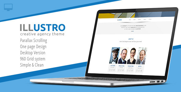 Illustro – Creative Agency Theme