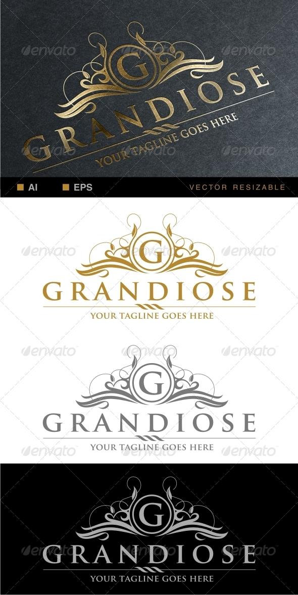Grandiose Logo Template - Crests Logo Templates
