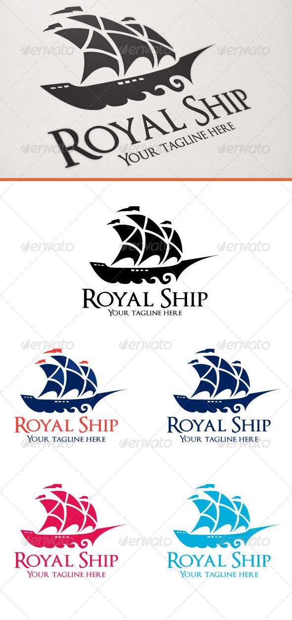 Royal Ship - Objects Logo Templates