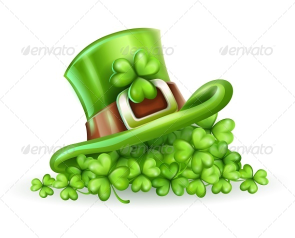 Cap of Saint Patrick in the Clover - Miscellaneous Seasons/Holidays