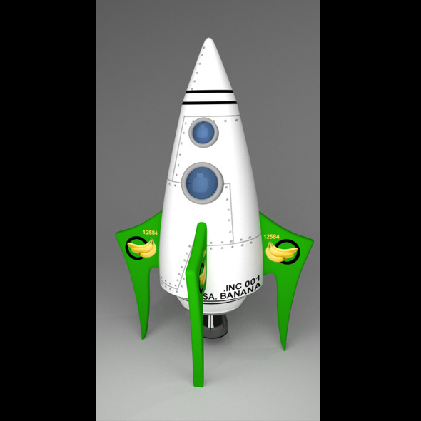Fun Rocket - 3DOcean Item for Sale